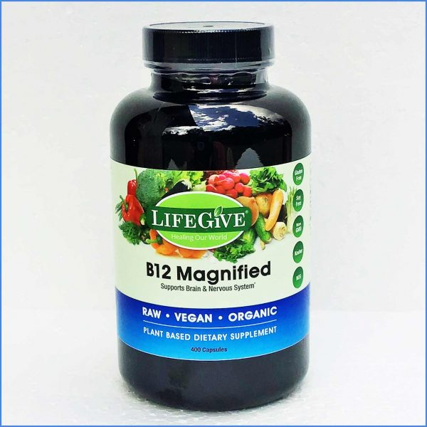 Lifegive B 12 Magnified