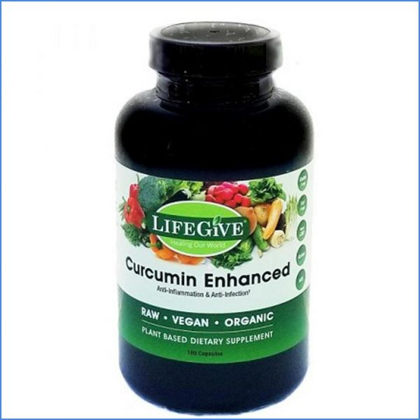 LifeGive Curcumin Enhanced