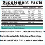 Electrolytes concentrate directions