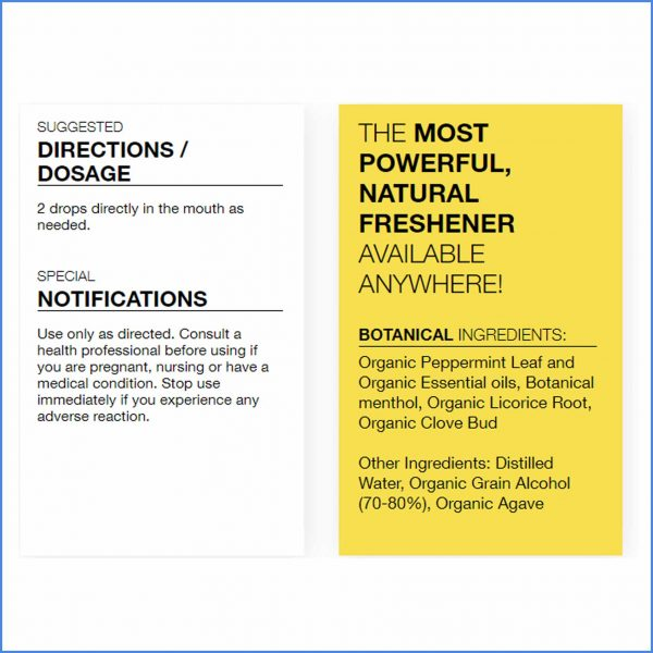 Dr Schulzes Fresh Breath Plus Directions