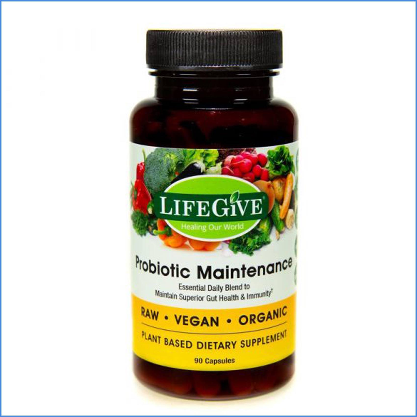 LifeGive Probiotic Maintenance 90 caps