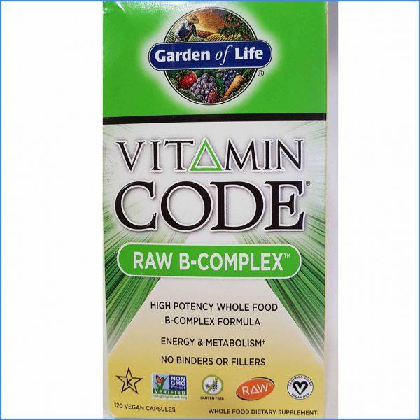 RAW B Complex Vitamin Code