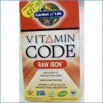 RAW Iron Vitamin Code
