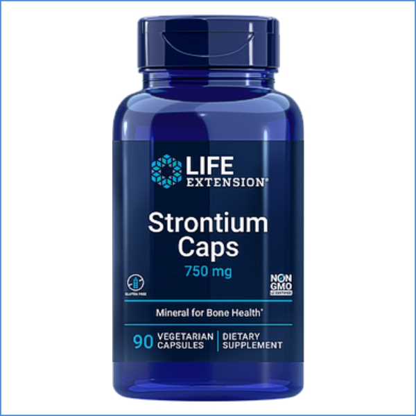 Strontium Caps 750 mg Life Extention