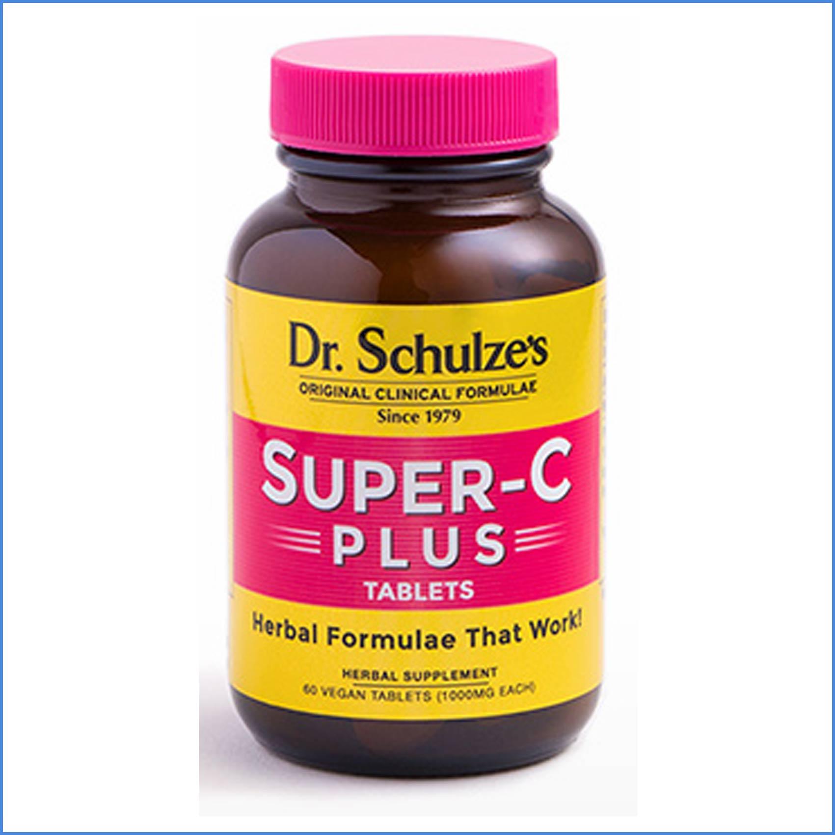 Dr Schulzes Super C Plus 60 Tablets