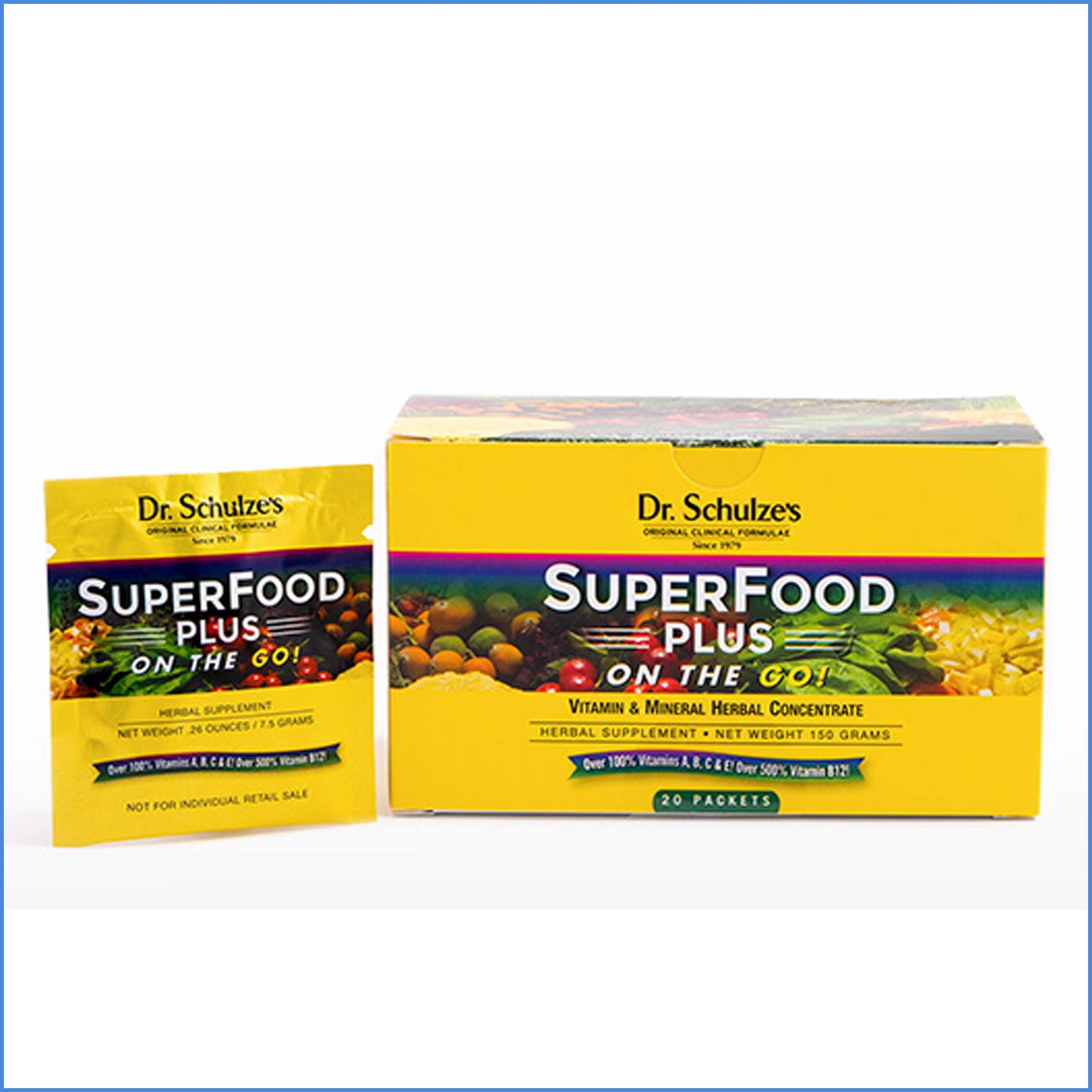 Dr Schulzes Superfood Plus On-the-Go