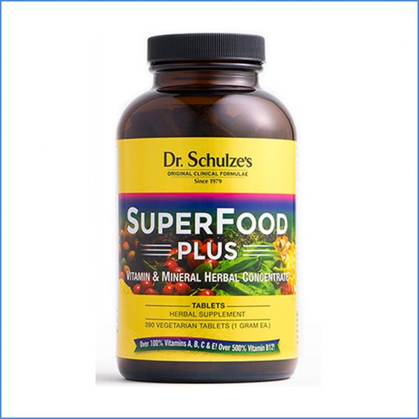 Dr. Schulze Superfood Plus Tablets