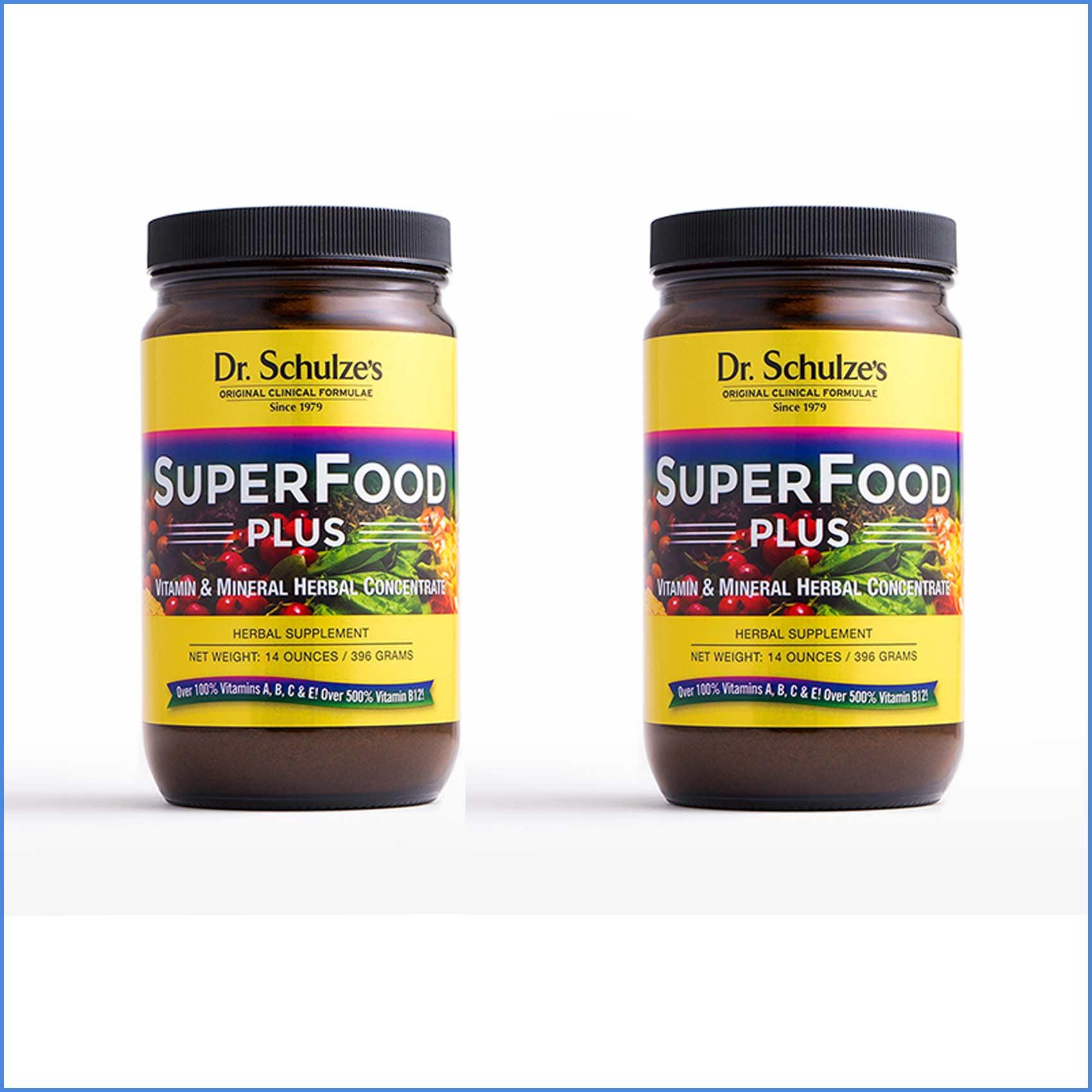 Dr Schulzes Superfood Plus Powder x 2