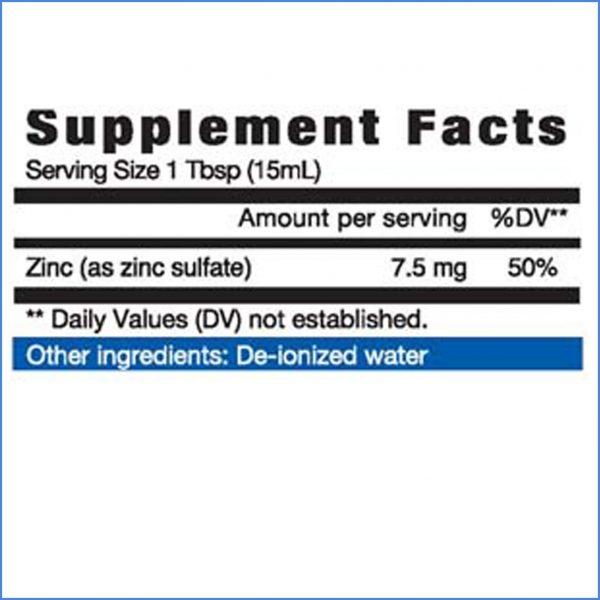 Zinc Liquid Directions