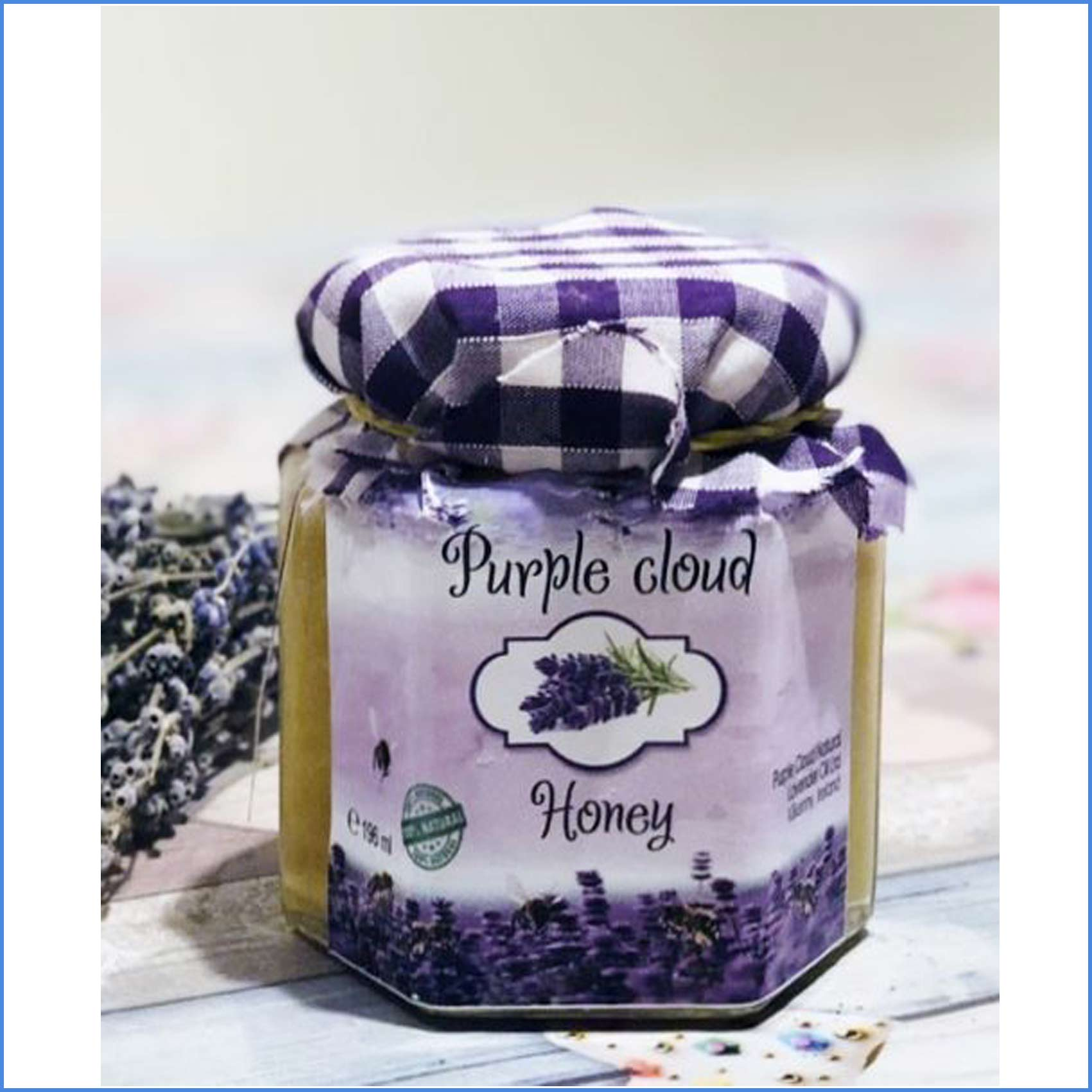 Honey 100% Raw Pure 192 grams