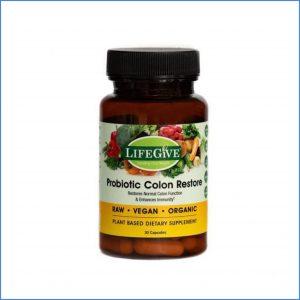 LifeGive Probiotic Colon Restore 90