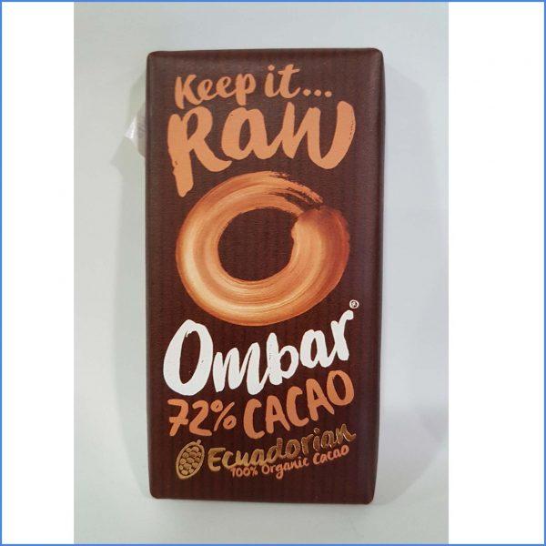 Ombar 72% Chocolate Organic