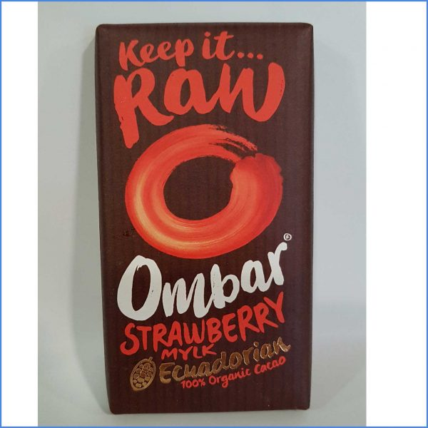Ombar Strawberries Mylk Organic