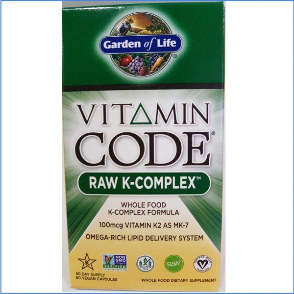 RAW Vitamin Code K-Complex