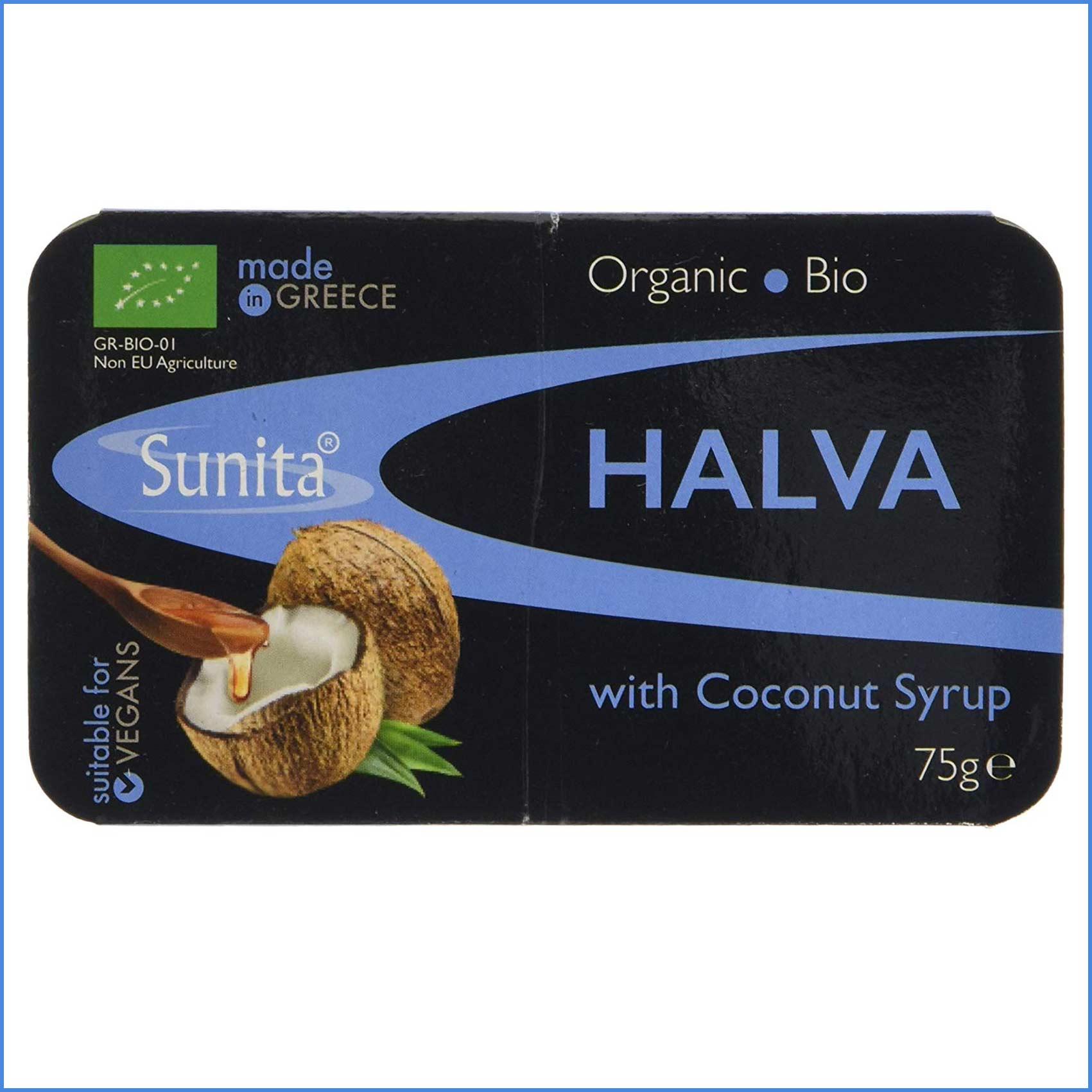 Organic Halva with Coconut Syrup 75g