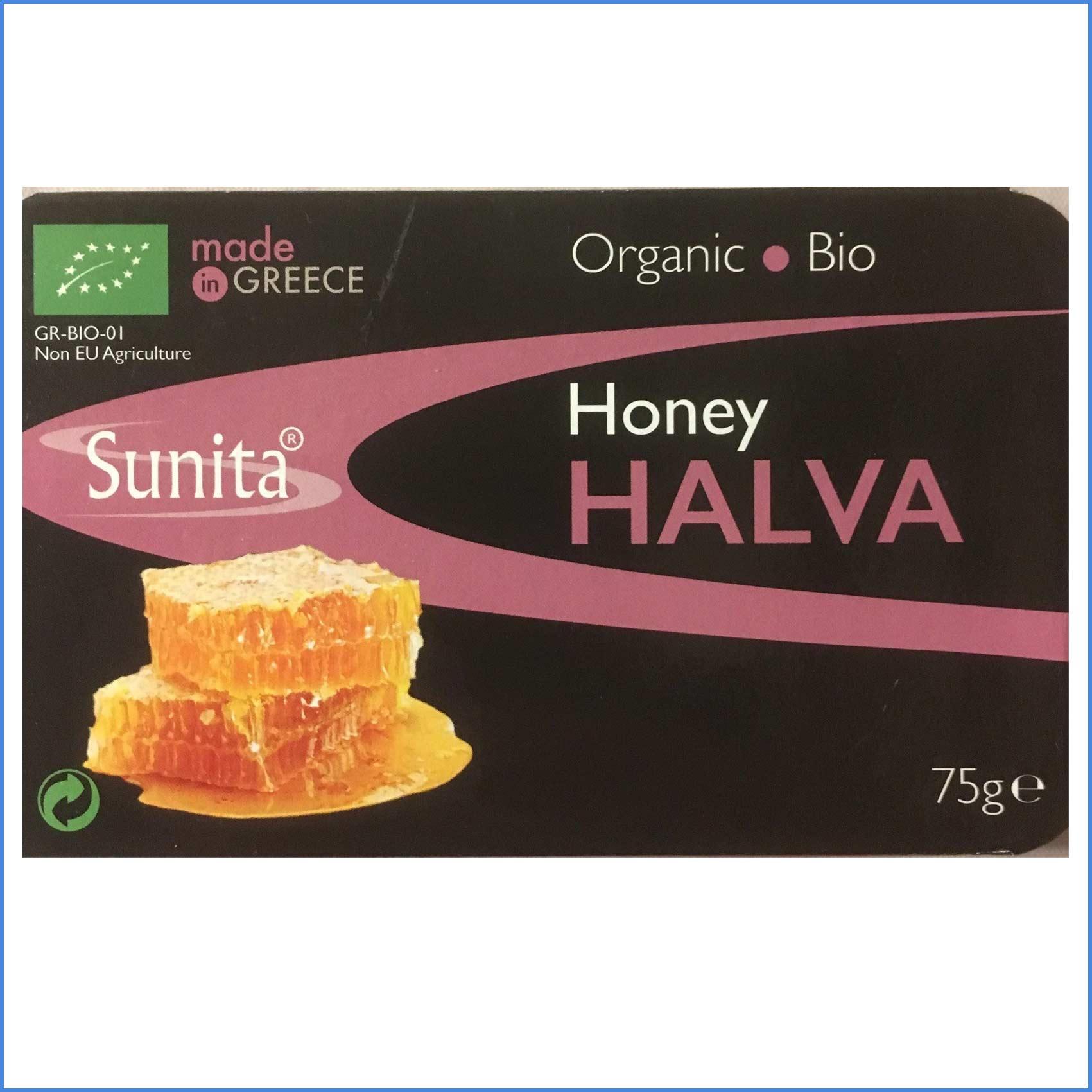 Organic Honey Halva 75g