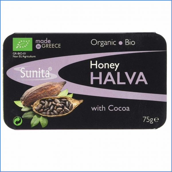 Organic Honey Halva with Cocoa 75g