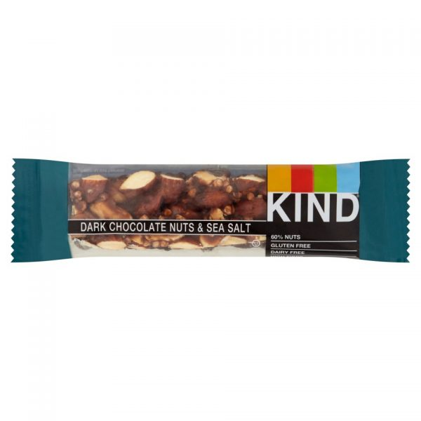 Kind dark chocolate nuts & sea salt bar