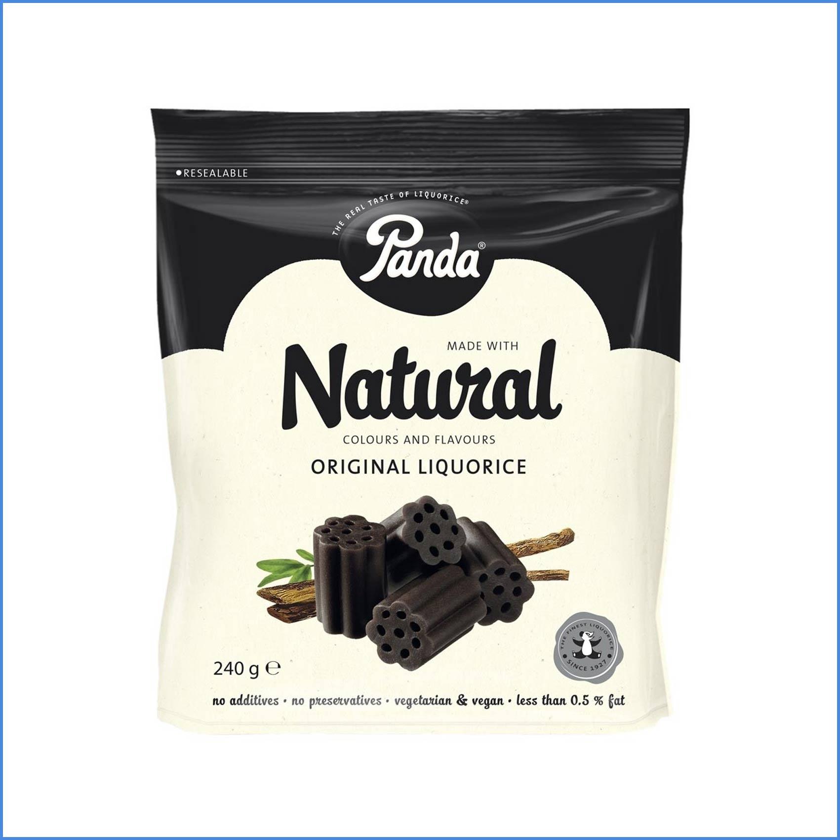 Panda Natural Original Liquorice