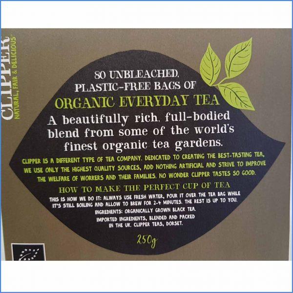 Organic Everyday Tea 80 bags