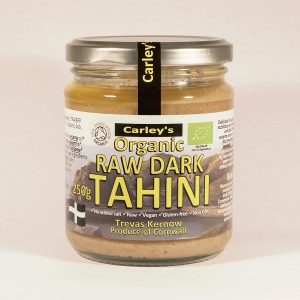 Raw Dark Tahini Organic