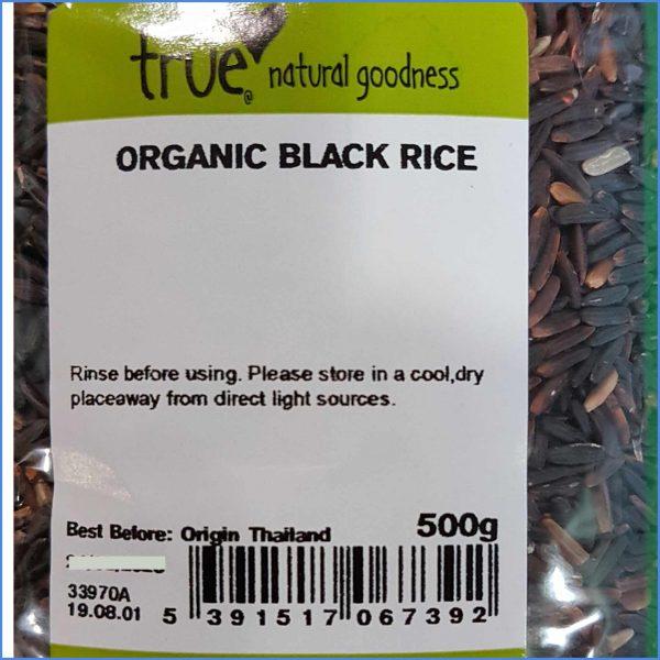 Black Rice Organic 500g