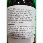 Pukka Castor Oil info