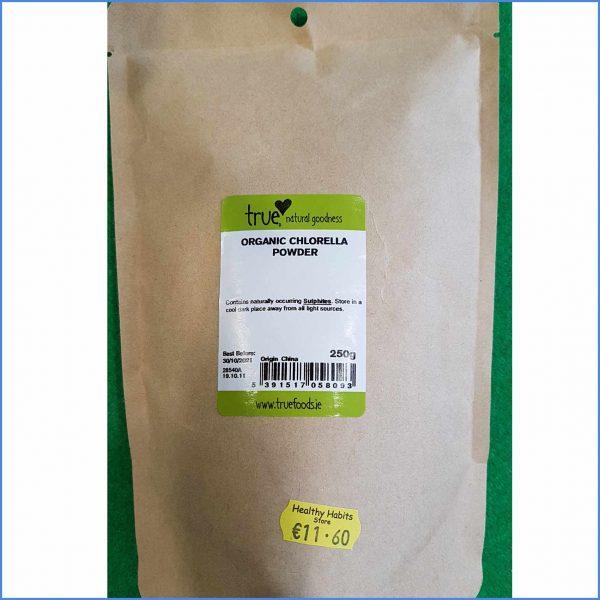 Chlorella powder organic