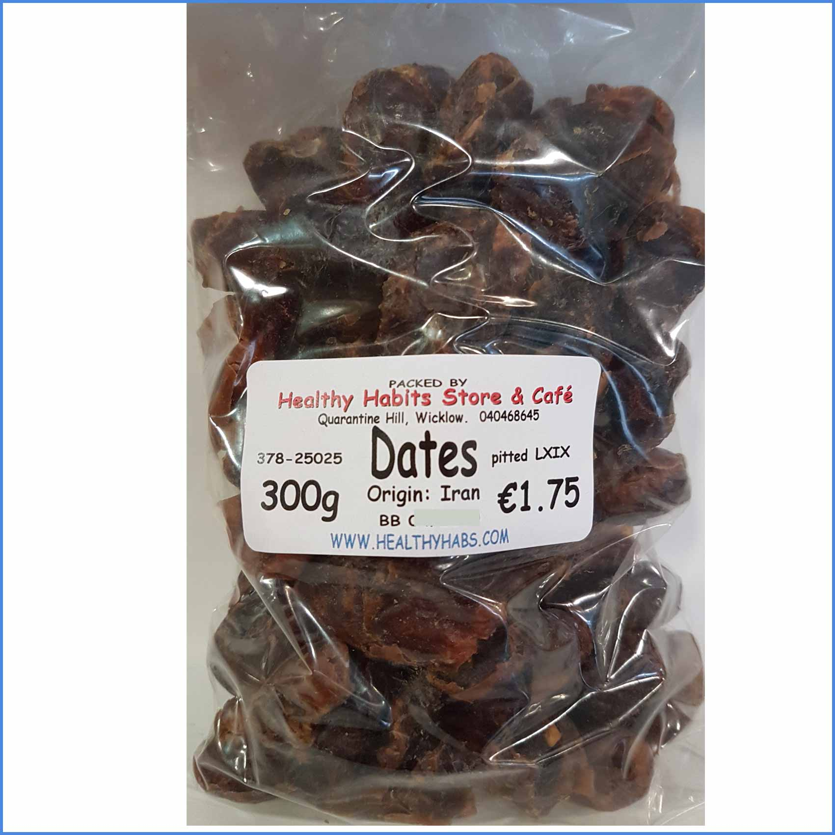 Dates pitted 300g