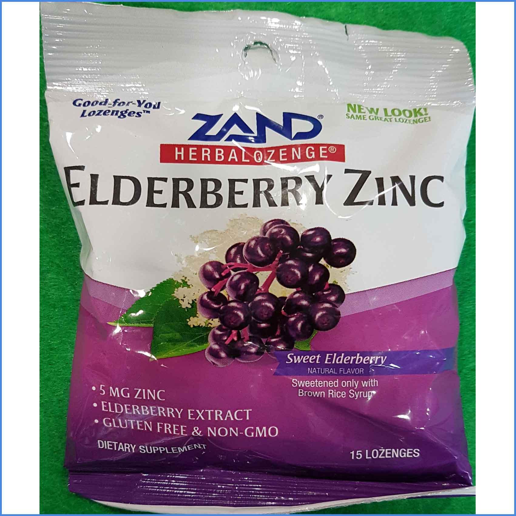Elderberry Zinc Lozengers