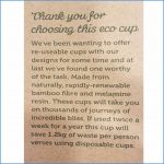 Thank you for choosing eco cup