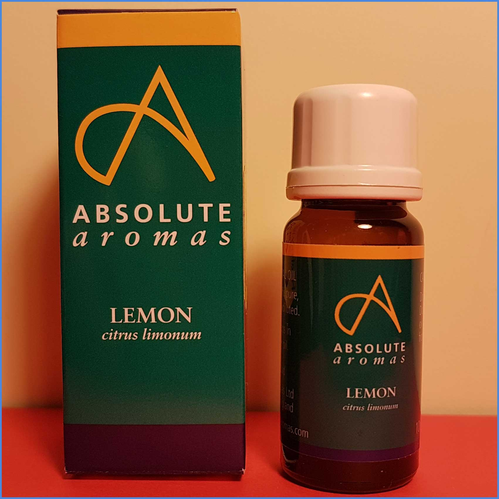 Lemon Essential Oil, 10ml