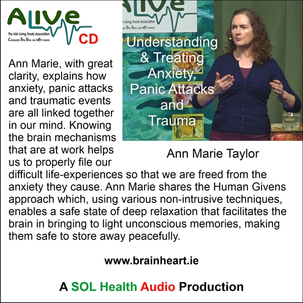 Understanding and Treating Anxiety with Ann Marie Taylor CD
