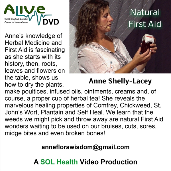 Natural First Aid by Anne Shelly-Lacey
