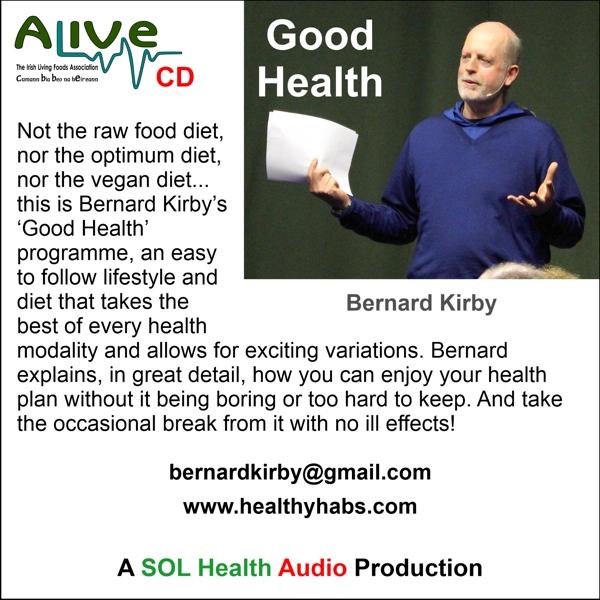 Good Health with Bernard Kirby CD