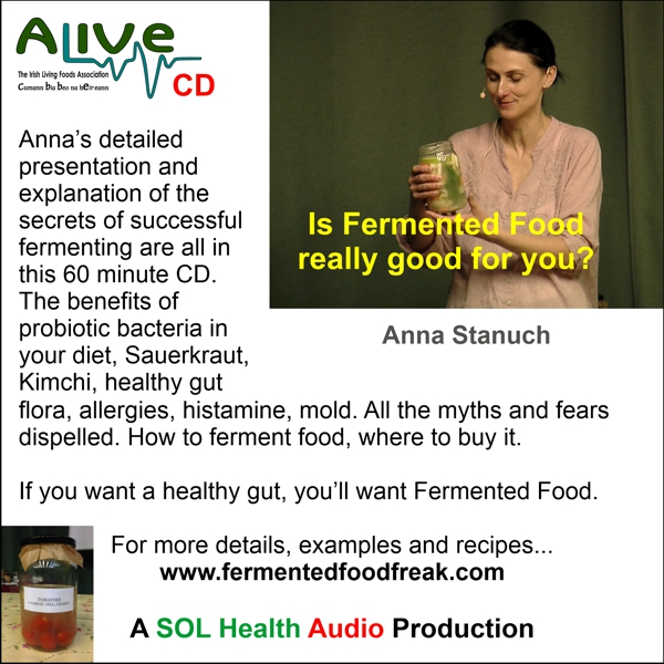 Is Fermented Food Really Good For You? CD by Anna Stanuch