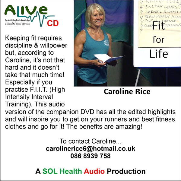 Fit for Life with Caroline Rice CD