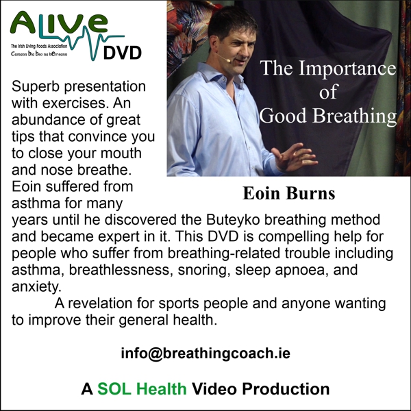 The importance of good breathing with Eoin Burns
