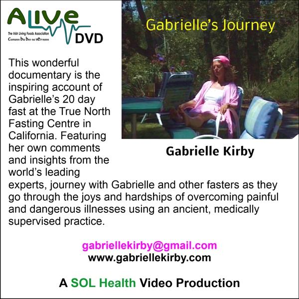 Gabrielle's Journey DVD