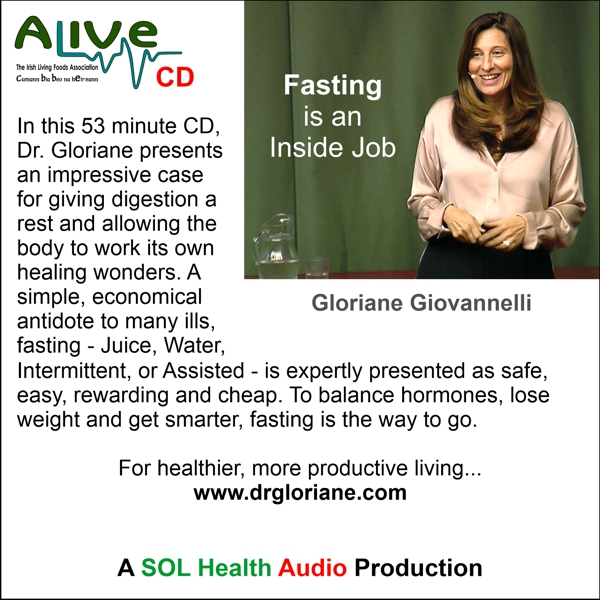Fasting is an Inside Job with Gloriane Giovannelli CD