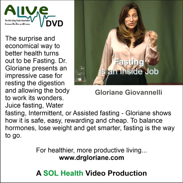 Fasting is an Inside Job with Gloriane Giovannelli DVD
