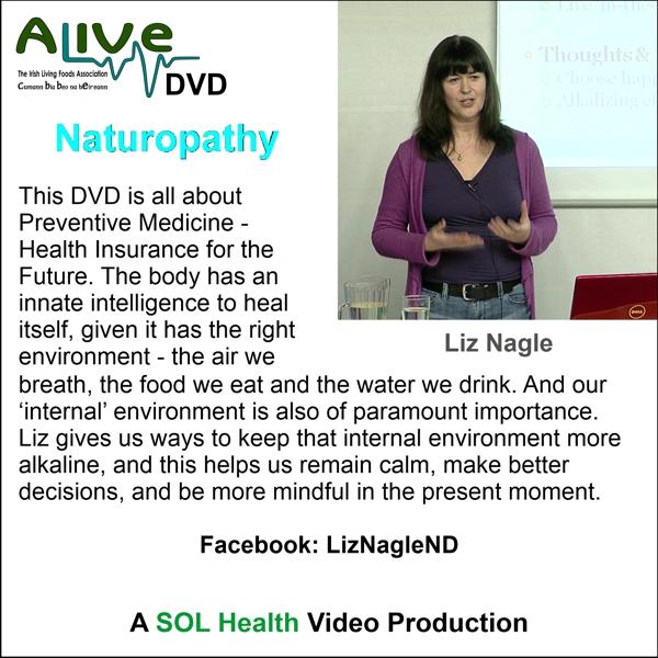 Naturapathy with Liz Nagle - DVD