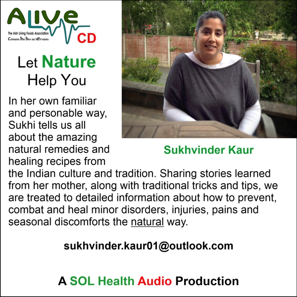 Let Nature Help You with Sukhvinder Kaur - CD