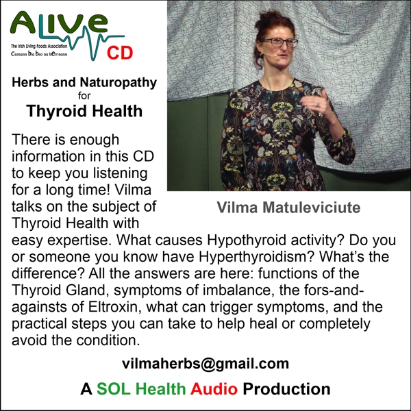 Thyroid Health with Vilma Matuleviciute CD