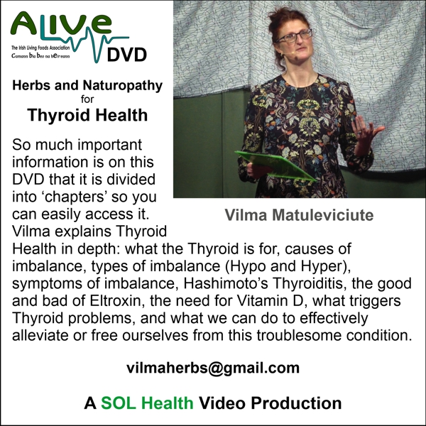 Thyroid Health with Vilma Matuleviciute - DVD