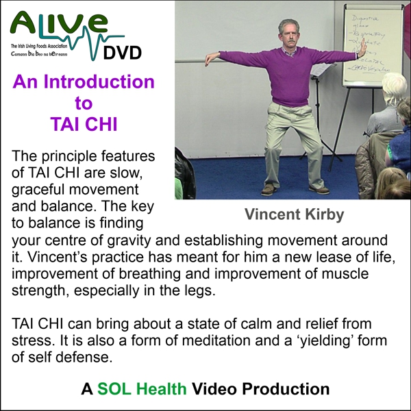 An Introduction to Tai Chi with Vincent Kirby - DVD