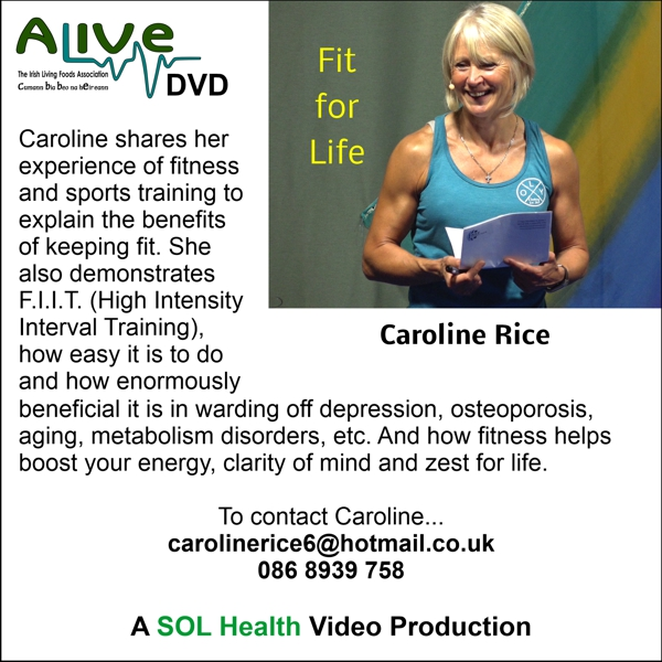 Fit for Life with Caroline Rice DVD