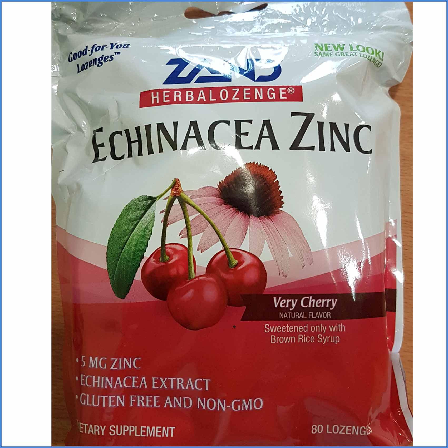 Echinacea zinc 80 lozengers