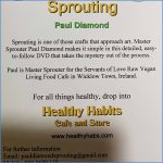 Sprouting DVD back