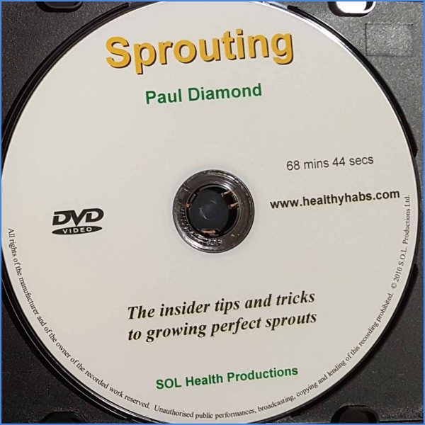 Sprouting DVD back 2